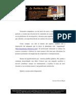 Relación de contenidos didácticos del Portal Angarmegia