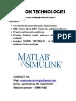 Matcon Technologies