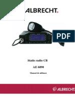 Manual de Utilizare Statie CB ALBRCHT - Ae_6890