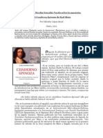 Nicolas, G Varela (Entrevista) Sobre La Aparicion Del Cuaderno Spinoza de Karl Marx Por Salvador Lopez Arnal