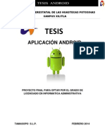 Tesis de Android Original
