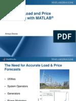 Load & Price Forecasting Webinar Slides