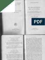 Denzinger, El Magisterio de La Iglesia