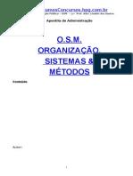 OSM Organização, Sistemas e Métodos - 1