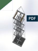 AUTOMATIC CLOTHESLINE 3D