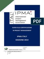 Guida Alla Certificazione IPMA 2014 v1.1_web