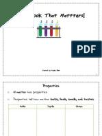 states of matter workbook