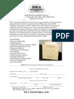 Restorative Nursing Flyer
