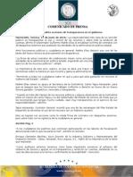 17-06-2010 El Gobernador Guillermo Padrés encabezó la firma de contratos con 38 despachos externos que auditarán las entidades de la administración pública estatal. B061066