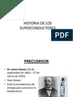 Historia de Los Superconductores