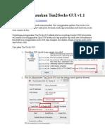 Tutorial Share SSH via WIFI Dengan Tun2Socks GUI v1