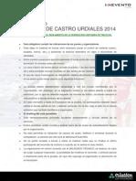 Reglamento Triatlón de Castro Urdiales 2014