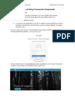Pasos Para Crear Un Blog