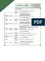 Materadio 2014 - programma non ufficiale