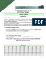 Prova Preambular Geral 2012