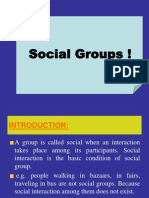 Lecture No. 6 Social Group.