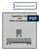 Inspections, Tests and Safety Considerations