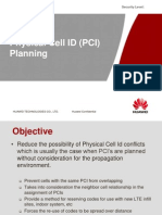 Physical Cell ID (PCI) Planning