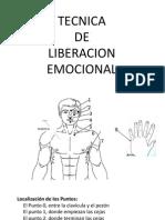 Tecnica Liberacion Emocional