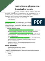 Farmacologie LP_04_Anestezice Locale Si Generale