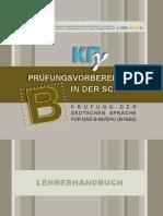 B Teachers Book German