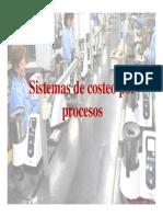 Sistema de Costo Por Procesos
