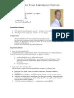 Curriculum EZH Letter
