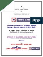 24804222 Gagan Puri HDFC CASA Report