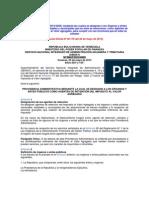 SENIAT Providencia 0029 Agentes Retencion IVA Organos y Entes Publicos 20-05-13