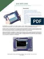 Catalogo MTS 6000