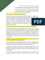 Insumo Acerca Del Plan de Participación Ciudadana