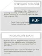 Taxonomia Bloom-Anderson 2013