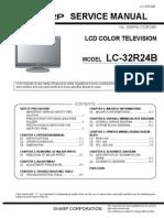 Sharp Lc 32r24b