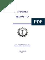 Apostila de Estatística - UFSM - Prof. Dr. Luis Felipe Dias Lopes