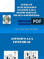 1 EDUCACION INCLUSIVA