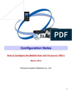 Configuration Notes for Media5-Fone V1