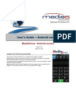 Media5-Fone Android UsersGuide