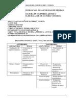 Programa Balance de Materia y Energia