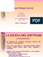 La Escena Del Software en Auditoria