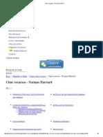 Citar Recursos - Normas Harvard