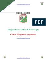 Myopathies congénitales