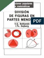 Ed MIR - Boltianski - División de Figuras en Partes Menores