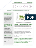 Oils Of Grace September 2014 Newsletter