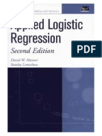 D. W. Hosmer & S. Lemeshow - Applied Logistic Regression - 2nd Edition 2000