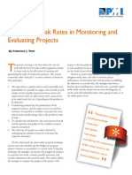 LS06 - The Use of Task Rates in Monitoring and Evaluating Projects - Members_Knowledge Shelf, FranciscoToro_2013