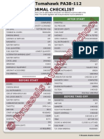 Checklist PA38 - 2013 Internet Copy