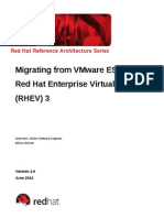 From ESX to RHV
