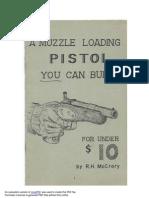 $10 muzzleloader diy pistol
