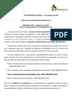 38 - Informe Tecnico Aprosoja Nº 38 Nbr 98432013 - Nova Norma de Depósito de Defensivos 15.08