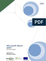 Manual de Word2007
